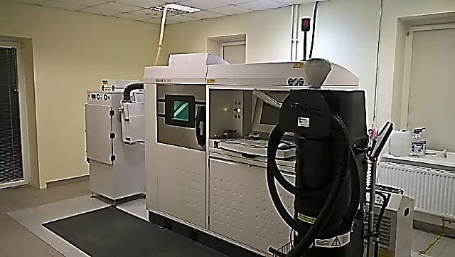 3D metalo spausdintuvas EOS EOSINT M280.